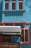 Una casa colorata di Malta, vicino alla spiaggia di marsaxlokk Immagine Stock Libera da Diritti