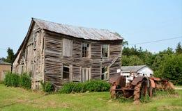 Una casa de la granja no más Imagen de archivo libre de regalías
