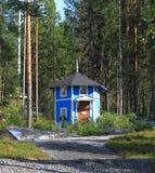 Una casa de Moomin en Finlandia Fotos de archivo libres de regalías