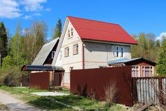 Una casa del ladrillo Imagen de archivo