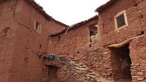Una casa del moroccon del berber hecha de la arcilla Imagenes de archivo