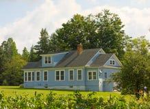 Una casa dell'azienda agricola nel Canada Fotografie Stock Libere da Diritti