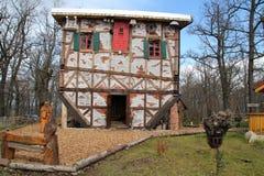 Una casa della strega Fotografia Stock