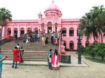 Una casa della terra di signore nel ghat sadar di Dacca fotografia stock libera da diritti