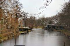 Villaggio di Zaanse Schans Fotografia Stock Libera da Diritti