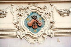 Una casa di tre violini Immagine Stock