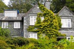 Una casa en Windermere Fotografía de archivo libre de regalías
