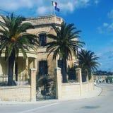 Una casa maltesa Imagen de archivo libre de regalías