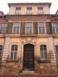 Una casa molto vecchia Immagine Stock