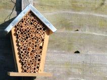 Una casa o un alveare di ape Fotografie Stock Libere da Diritti