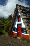 Una casa a Santana Fotografie Stock Libere da Diritti