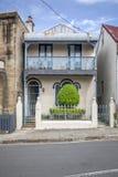 una casa típica de la terraza en Sydney Australia Imagenes de archivo