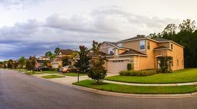 Una casa típica en la Florida fotografía de archivo