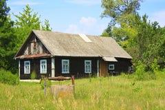 Una casa tipica del villaggio Fotografie Stock Libere da Diritti