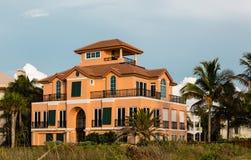 Una casa tropicale Immagine Stock Libera da Diritti