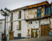 Una casa uninhabital en Francia Foto de archivo