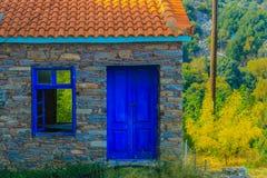 Una casa vieja, abandonada Fotografía de archivo
