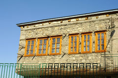 Una casa vieja en Erzurum Imágenes de archivo libres de regalías