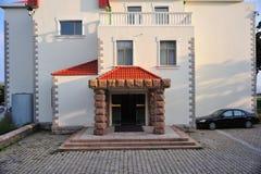 Una casa vieja en Qingdao, China Imágenes de archivo libres de regalías