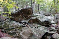 Una cascata di acqua nella Virginia Fotografie Stock Libere da Diritti