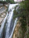 Una cascata italiana Fotografia Stock Libera da Diritti