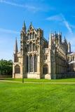 Una catedral en Ely, Cambridgeshire, Reino Unido Fotografía de archivo libre de regalías