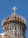 Una cattedrale in bozzolo Fotografie Stock Libere da Diritti