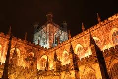 Una cattedrale a Chester Fotografia Stock Libera da Diritti