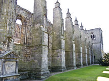 Una cattedrale rovinata   a Edimburgo, la Scozia, fotografia stock libera da diritti
