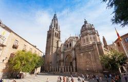 Una cattedrale a Toledo Immagine Stock Libera da Diritti