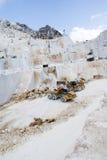 Una cava del marmo di Carrara Fotografia Stock Libera da Diritti