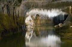 In una caverna Fotografia Stock Libera da Diritti