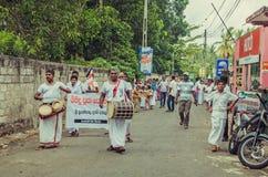 Una celebración en Sri Lanka imagenes de archivo