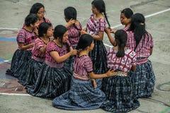 una celebrazione di 197 anni di indipendenza dal Guatemala fotografia stock