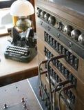 Centralita telefónica Fotos de archivo libres de regalías
