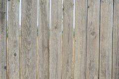 Una cerca con huecos Fotografía de archivo