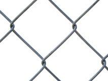 Una cerca de acero - textura Imagenes de archivo