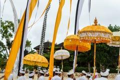 Una ceremonia del Balinese Imagen de archivo