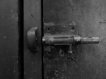 Una cerradura de puerta foto de archivo libre de regalías