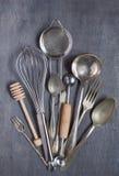 Una certa attrezzatura dell'annata della cucina Fotografia Stock