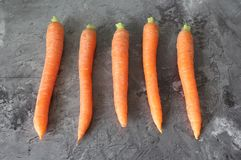 Una certa carota fresca Fotografia Stock Libera da Diritti