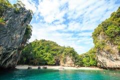 Una certa isola vicino all'isola Krabi, Tailandia di hong Hong del KOH Fotografia Stock