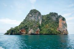 Una certa isola vicino all'isola Krabi, Tailandia di hong Hong del KOH Immagine Stock Libera da Diritti