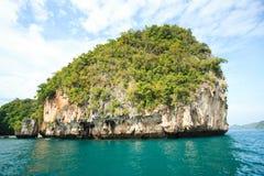 Una certa isola vicino all'isola Krabi, Tailandia di hong Hong del KOH Fotografia Stock Libera da Diritti