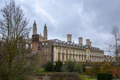 Una certa residenza alloggia vicino a re College a Cambridge Fotografia Stock Libera da Diritti