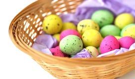 Huevos coloreados Imágenes de archivo libres de regalías