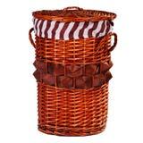 Una cesta interesante Fotografía de archivo libre de regalías