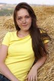 Una chica joven hermosa Foto de archivo