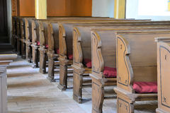 in una chiesa Fotografia Stock Libera da Diritti