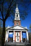 Una chiesa Fotografie Stock Libere da Diritti